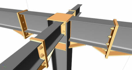 Structural Steel Connection Design per AISC Specifications
